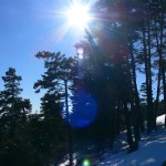 Işık Dağı Ters Işık Fotoğrafı