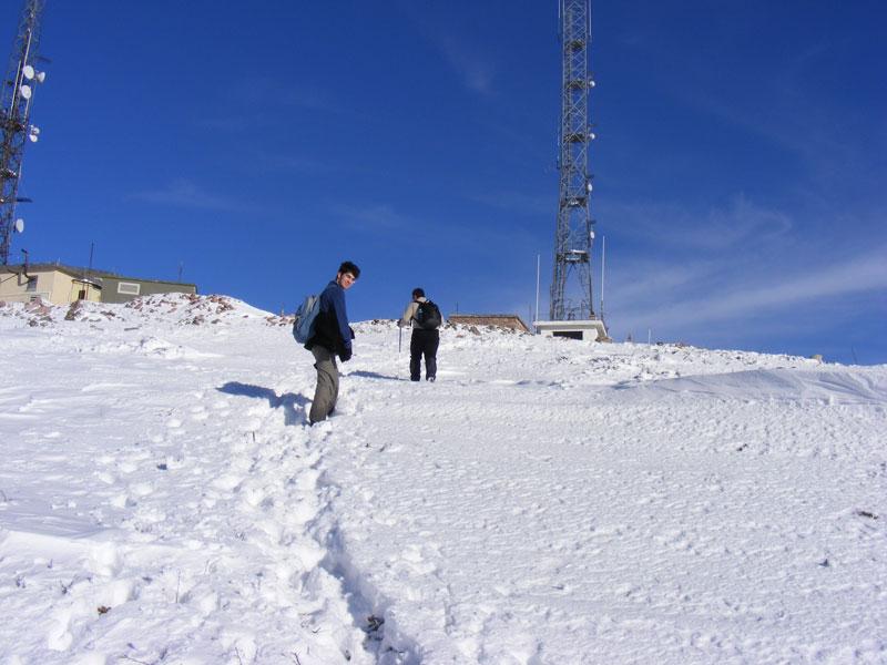 Işık Dağı Kış Tırmanışı