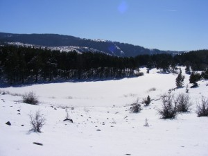 karagölde kış