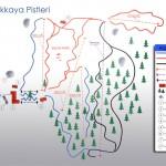 Kartalkaya Dorukkaya Kayak Merkezi Pist Haritası