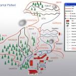 Kartalkaya Kayak Merkezi Pist Haritası