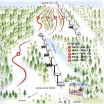 Sarıkamış- Cibiltepe Kayak Merkezi Pist Haritası