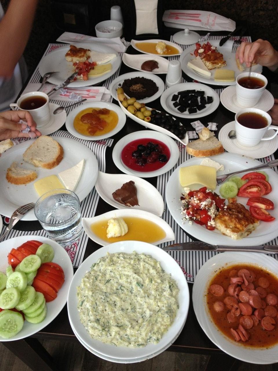 1972'de Kahvaltı ve Kahvaltının Önemi