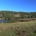 Karagöl etrafındaki gölet