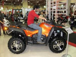 2013 Motosiklet Fuarı 800 cc lüks atv