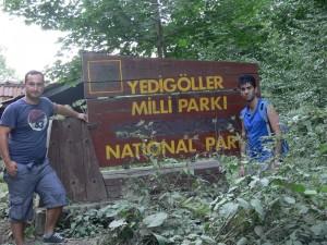 seven lakes national park