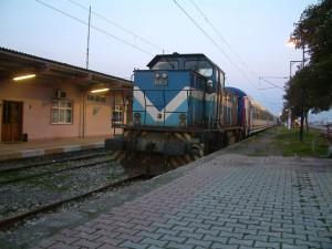İstasyonda Tren